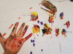 laboratorio di arte terapia della scuola LACERVA